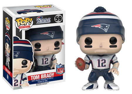 Funko Pop NFL New England Patriots Wave 3 - Tom Brady (Away Jersey) (Hat)