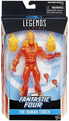 Marvel Legends Fantastic Four - The Human Torch Action Figure
