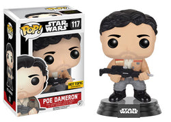 Funko Pop Star Wars The Force Awakens - Poe Dameron (Jacket and Blaster)