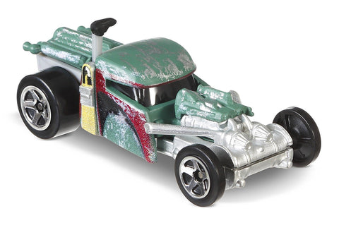 Hot Wheels Star Wars Character Cars - Boba Fett