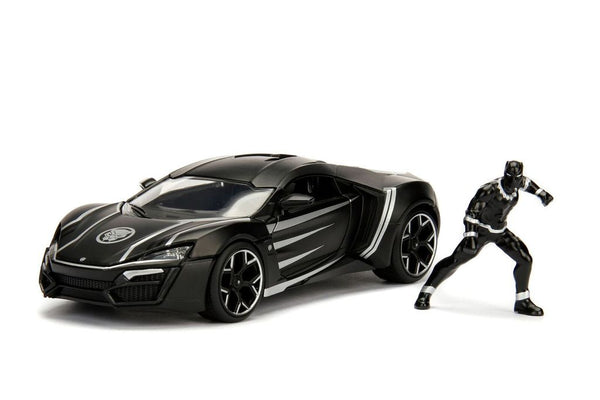 Hollywood Rides - Marvel Lykan HyperSport with Black Panther