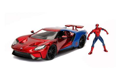 Hollywood Rides - Marvel 2017 Ford GT with Spider-Man