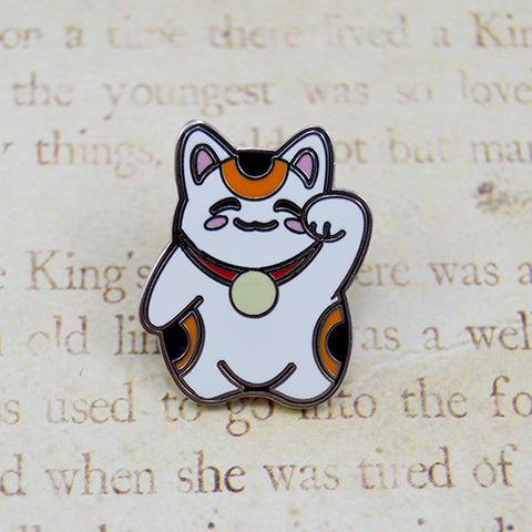 Ash Evans Traditional Lucky Cat Pin