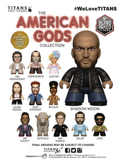 Titan Merchandise American Gods Season 1 Mini-Figures - Blind Box