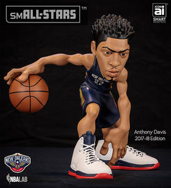 IconAI Small-Stars NBA New Orleans Pelicans Anthony Davis 2017-2018 Icon Edition Figure