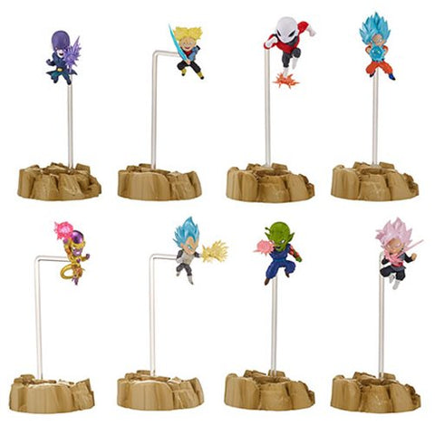 Bandai Dragon Ball Super Nano Mini-Figure 2-Pack
