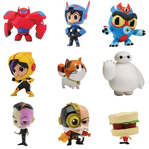 Bandai Big Hero 6 TV Series Chibi Figure - Blind Box