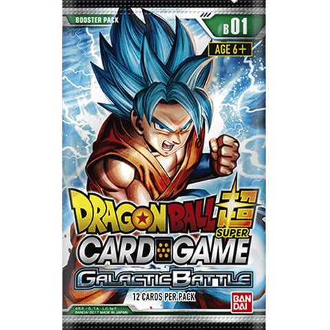 Dragon Ball Super:  Galactic Battle Booster (#1) Pack