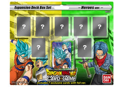 Dragon Ball Super Mighty Heroes Deck Box Set