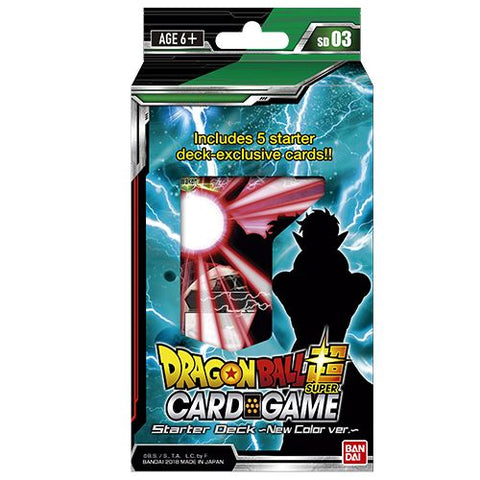 Dragon Ball Super:  Series 3 Starter Pack Dark Invasion Collectible Card Game