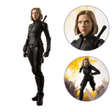 Bandai Tamashii Nations Marvel Avengers: Infinity War Black Widow S.H. Figuarts Action Figure