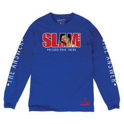 Mitchell & Ness x SLAM - Allen Iverson SLAM Long Sleeve Tee