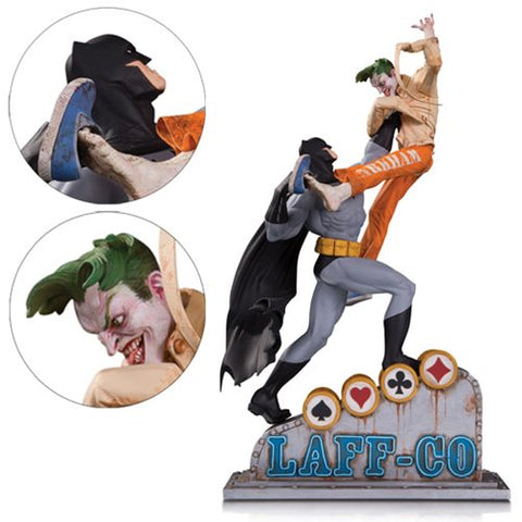 DC Collectibles Batman vs Joker Laff-Co Battle Statue