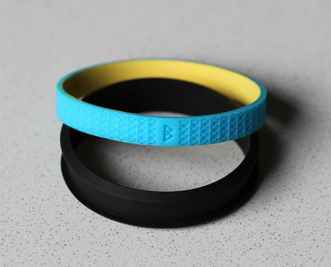 Bohnd Bracelets - Black, Blue and Yellow