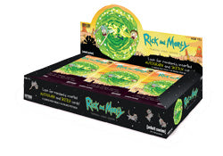 Rick and Morty Trading Cards Season 1 - Full Box