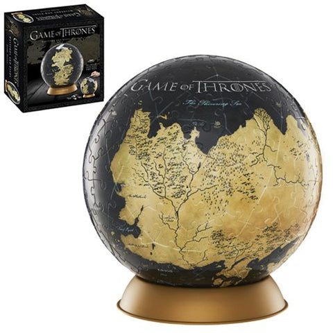 "Game of Thrones Westeros and Essos 6"" Globe Puzzle"
