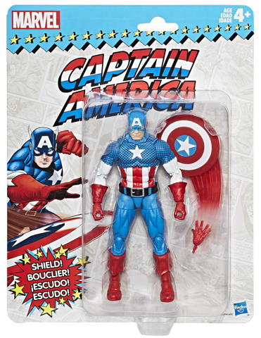 Marvel Legends Vintage Series Captain America Action Figure