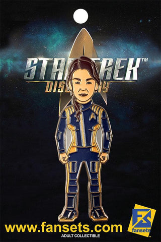 Fansets Star Trek Discovery Captain Georgiou Enamel Pin