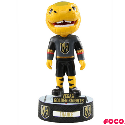 NHL Vegas Golden Knights Mascot Chance Baller Bobblehead