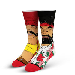 Odd Sox Cheech and Chong High Guys 360 Socks