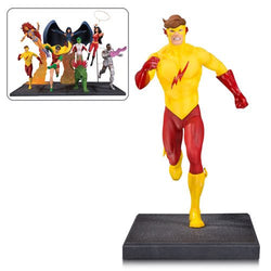 DC Collectibles The New Teen Titans Kid Flash Multi-Part Statue