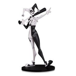 DC Artists' Alley Harley Quinn Black and White Statue