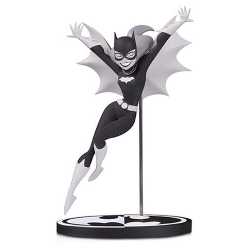DC Collectibles Batman Black and White Batgirl By Bruce Timm Statue