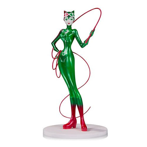 DC Comics Artists' Alley Catwoman Holiday Statue