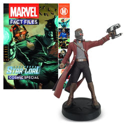 Marvel Fact Files Cosmic Special #2 Star-Lord Statue with Collector Magazine