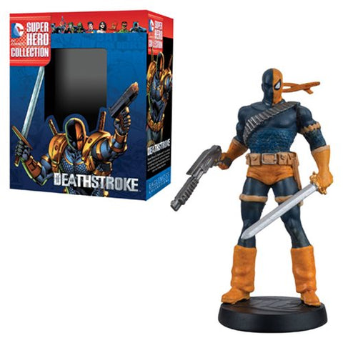 DC Superhero Deathstroke Best Of Collector Figure with Collector Magazine