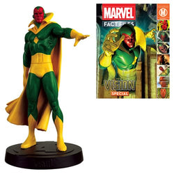 Marvel Fact Files Special #12 The Vision Figure with Collector Magazine