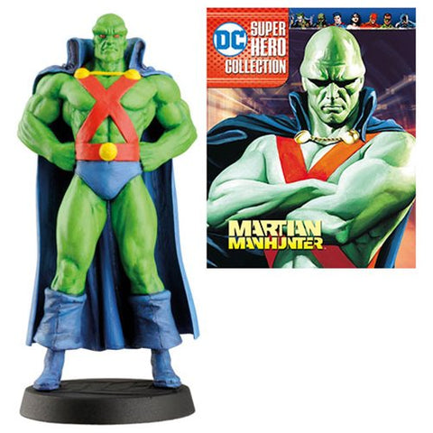 DC Superhero Best Of Martian Manhunter Figure and Magazine #30
