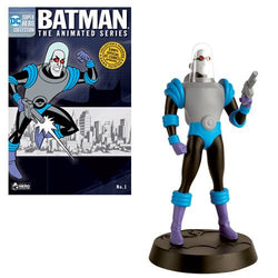 DC Batman: The Animated Series Figure Collector Mr. Freeze Figure with Magazine