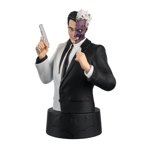 DC Batman Universe Bust Collection Two-Face Bust with Magazine #4