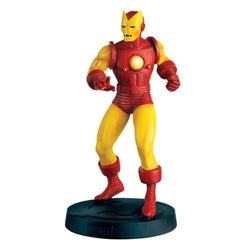 Marvel Fact Files Special #1 Iron Man Classic Statue with Magazine