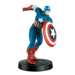 Marvel Fact Files Special #2 Captain America Classic Statue with Magazine