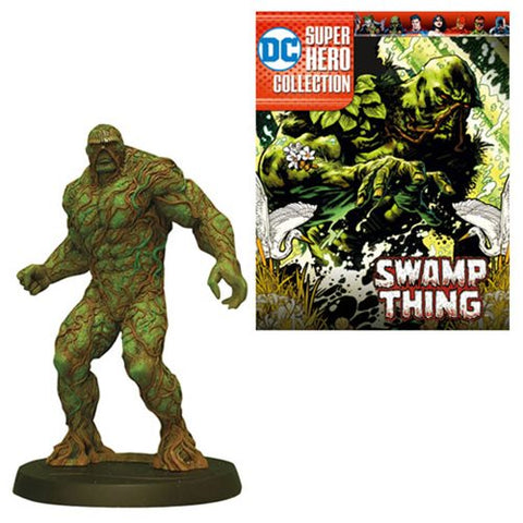 DC Superhero Best Of Figure Special Swamp Thing with Collector Magazine #6