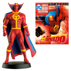 DC Superhero Red Tornado Best Of Figure with Magazine #51