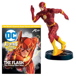DC All Stars Figure Coll. Flash Fastest Man Alive #2 Statue