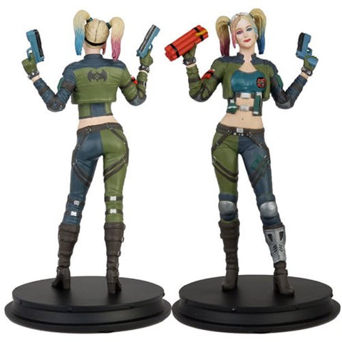 DC Injustice Harley Quinn Green Costume Deluxe Statue