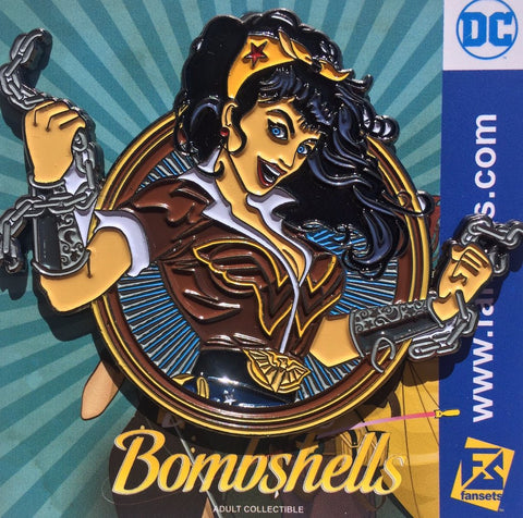 Fansets DC Comics Bombshells Art Wonder Woman Enamel Pin