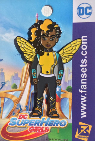 Fansets DC Comics SuperHero Girls Bumblebee Enamel Pin