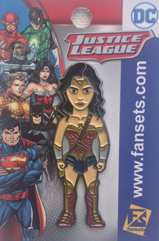 Fansets DC Comics Dawn of Justice Wonder Woman Enamel Pin