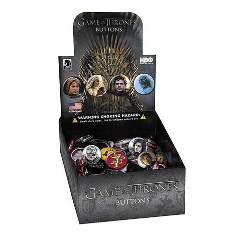 Game of Thrones Assorted Button Case of 200