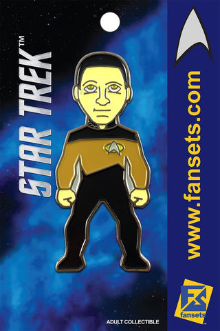 Fansets Star Trek Commander Data Enamel Pin