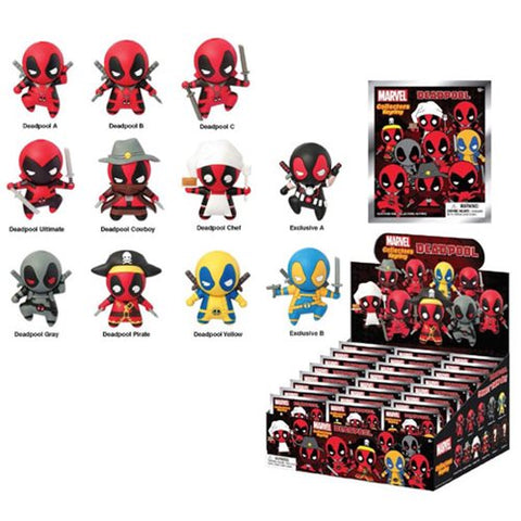 Marvel Deadpool Figural 3-D Keychain - Blind Box