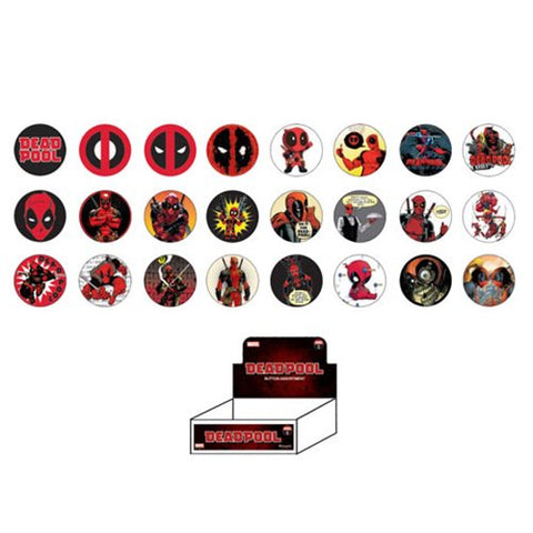 Loungefly Deadpool Buttons - Blind Bag