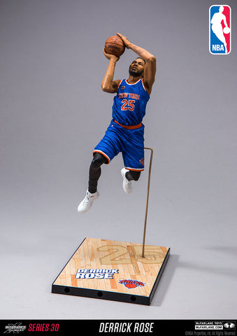 McFarlane Toys NBA New York Knicks Derrick Rose
