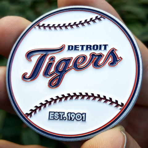 MLB Detroit Tigers Coin