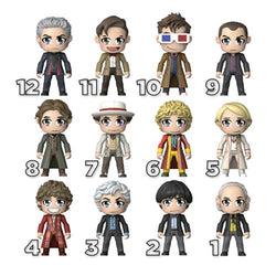 Titan Merchandise Doctor Who 12 Doctors Kawaii Figure - Blind Box